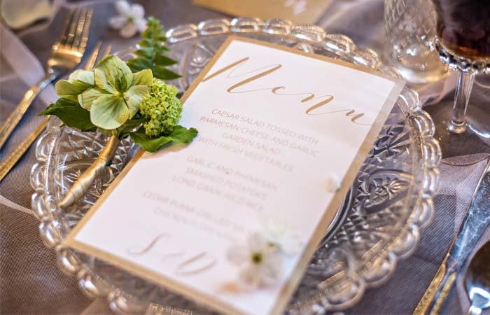 Text na svadobnom menu