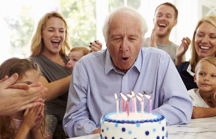 Meghívó az 50-es születésnapra