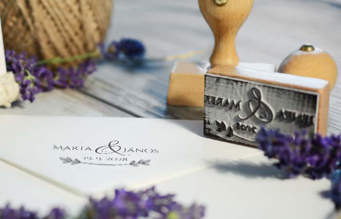 Hogyan készülnek az esküvői bélyegzők?