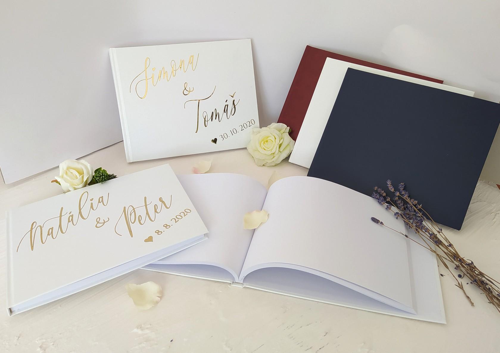 Tervezze meg saját esküvői vendégkönyvét.